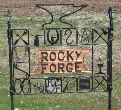 Rocky Forge Sign